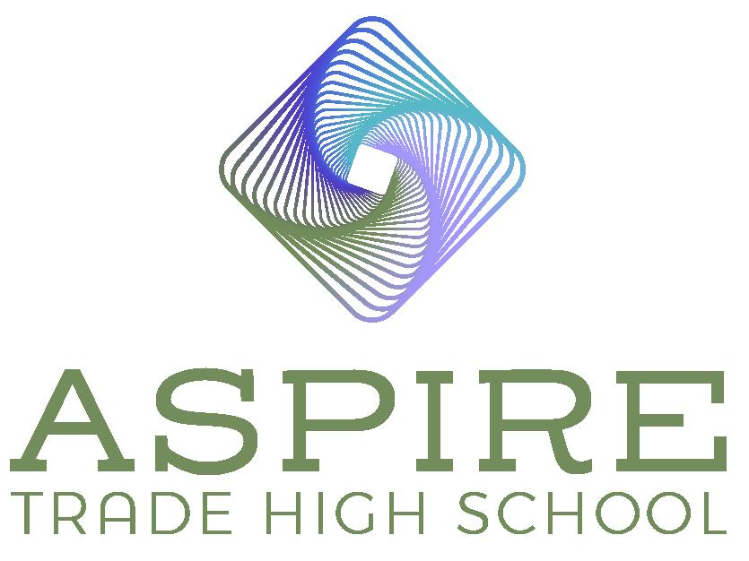 Aspire Trade High School Logo Stacked